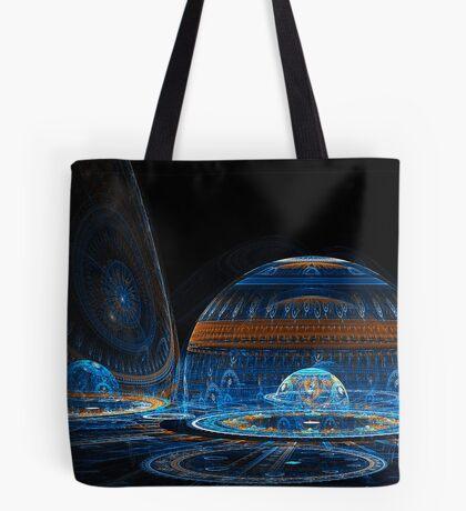 Space Igloos Tote Bag