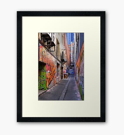 Croft Alley Framed Print