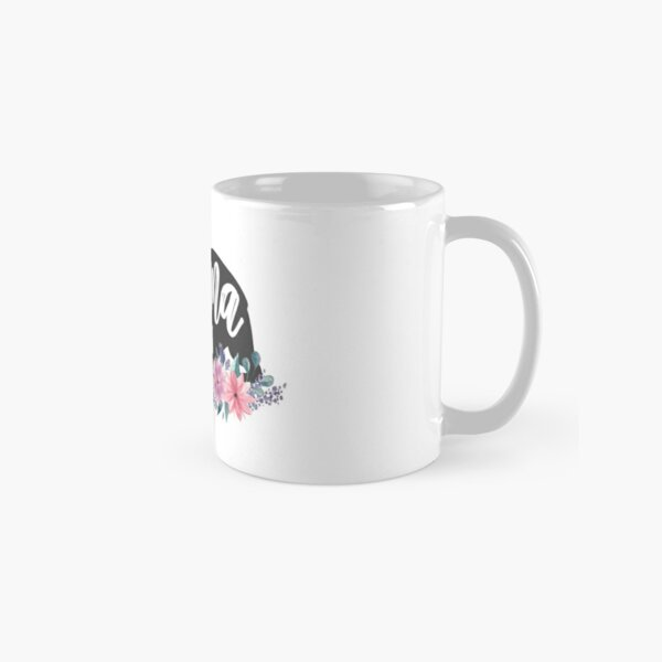 Mama Bear Floral Watercolor Flowers  Classic Mug
