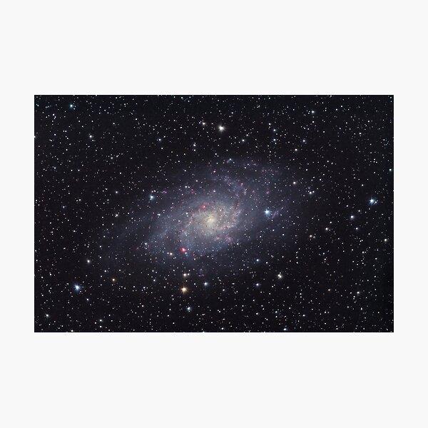 M33 Spiral Galaxy Photographic Print