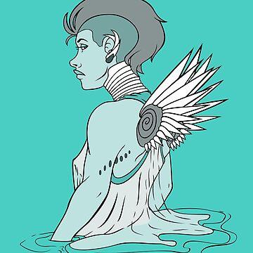 Angel del cielo de Rvaya