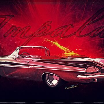 Chevy Impala Convertible for 1959 by ChasSinklier