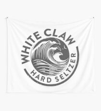 White Claw - Gray Wall Tapestry