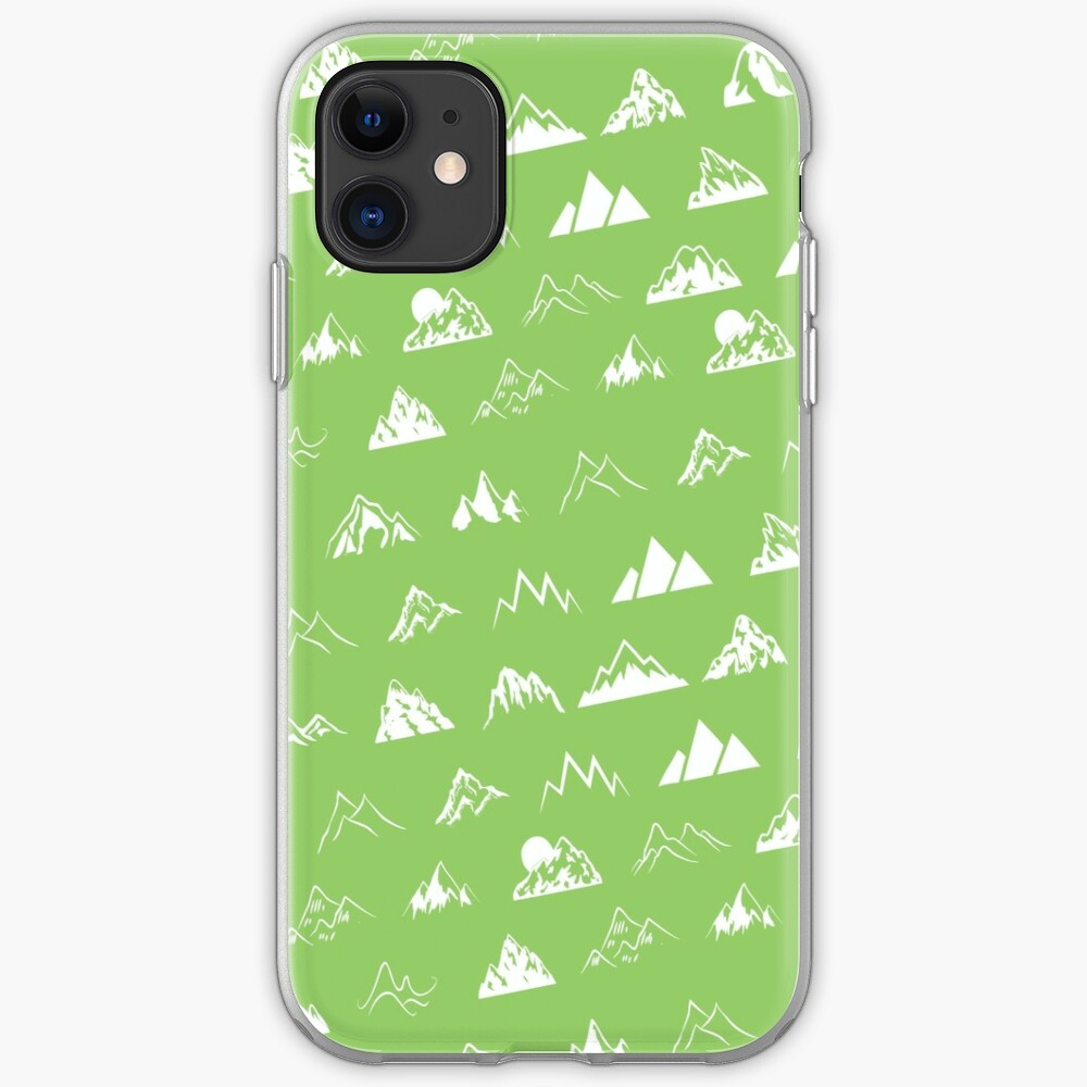 Mountains all over iPhone Case & Cover