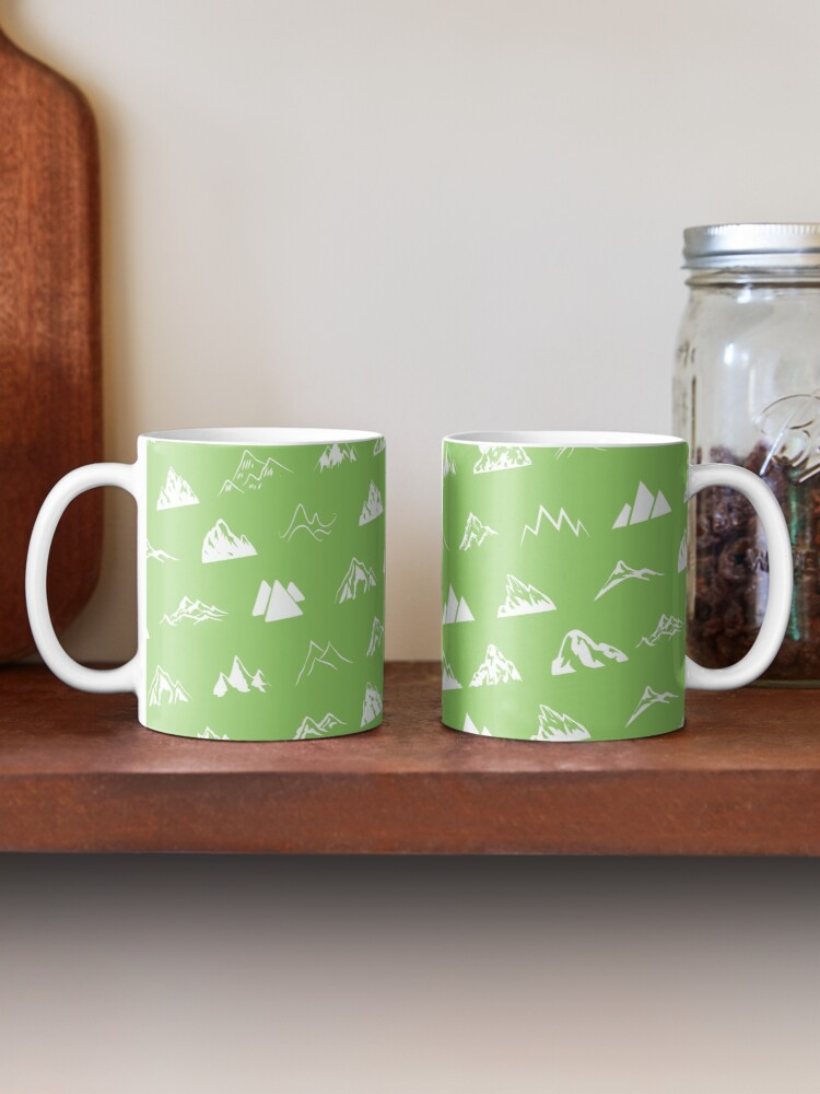 Alternate view of Mountains all over Mug
