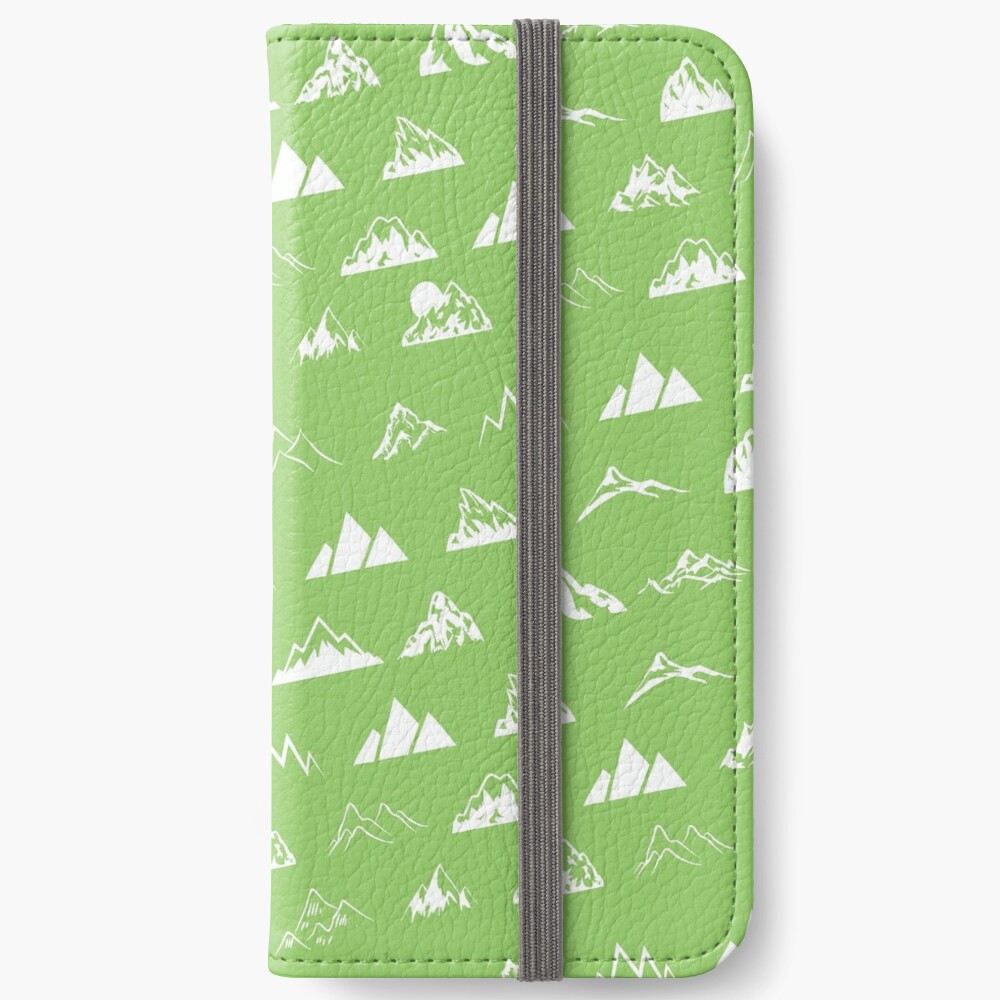 Mountains all over iPhone Wallet