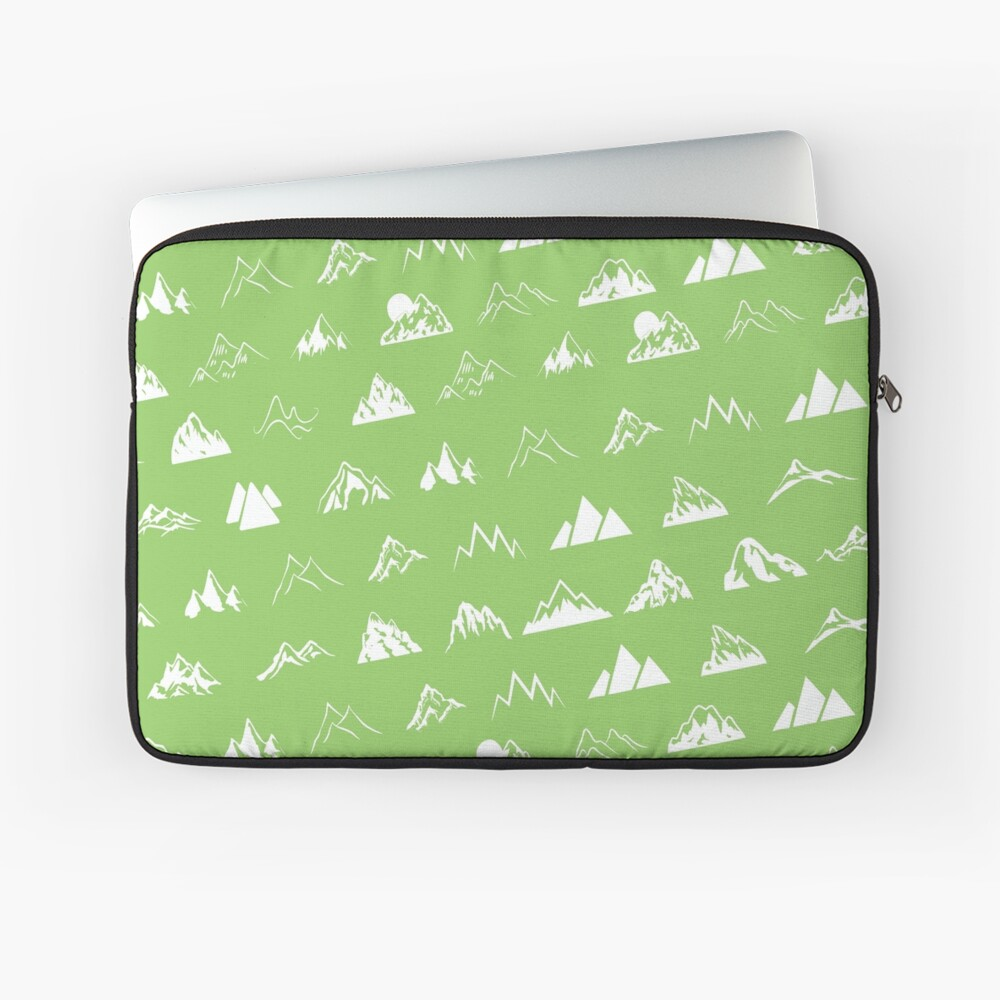 Mountains all over Laptop Sleeve