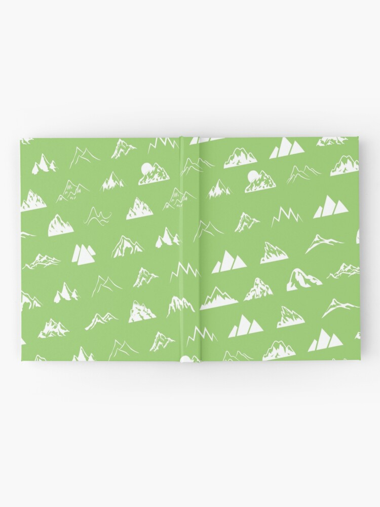 Alternate view of Mountains all over Hardcover Journal