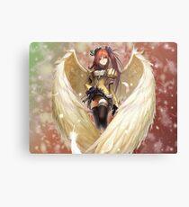 Anime Angel Girl. Metal Print