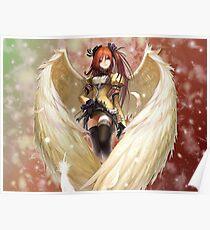 Anime Angel Girl. Poster