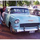 1955 Chevy by Duck-Flower