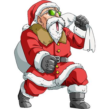 Master Roshi Santa Dragon ball by cemolamli