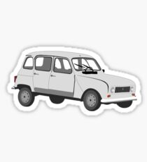 Renault 4 GTL Grey Sticker
