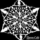 Holiday Raven Snow Flake  by ravencafeph