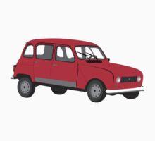 Renault 4 GTL Red