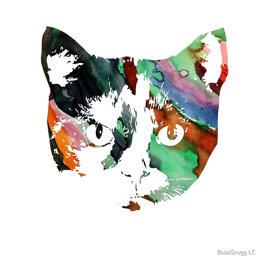 Calico Art Cat by BubbSnugg LC