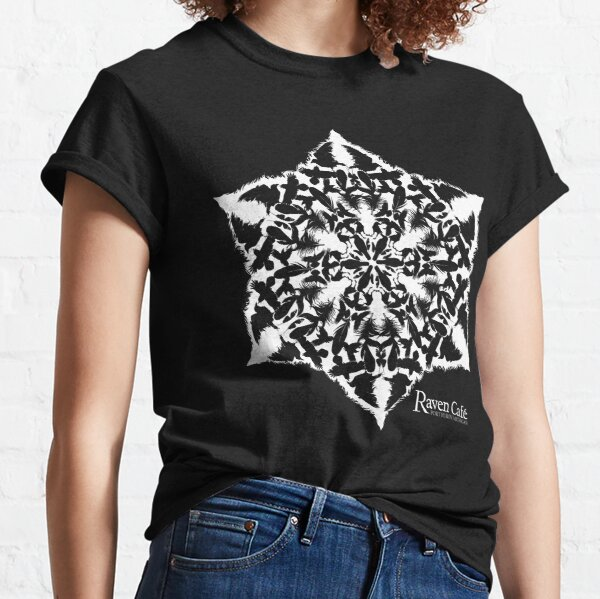 Holiday Raven Snow Flake  Classic T-Shirt