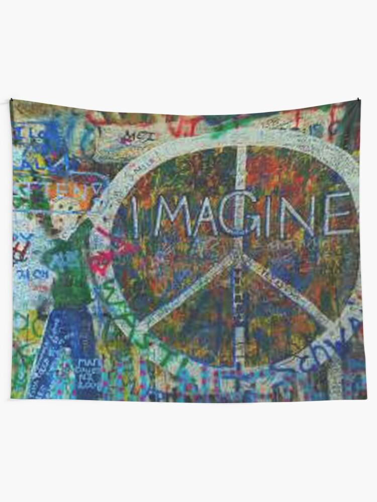 Alternate view of Imagine Tapestry