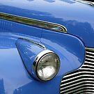 BLUE 1941 CHEVY CLASSIC CAR by Elaine Bawden