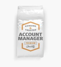Account Manager T-shirt | Gift Ideas Duvet Cover