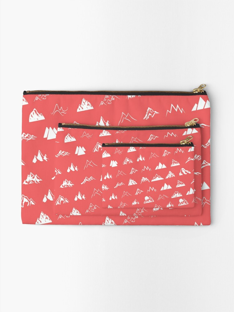 Alternate view of My mountains Zipper Pouch