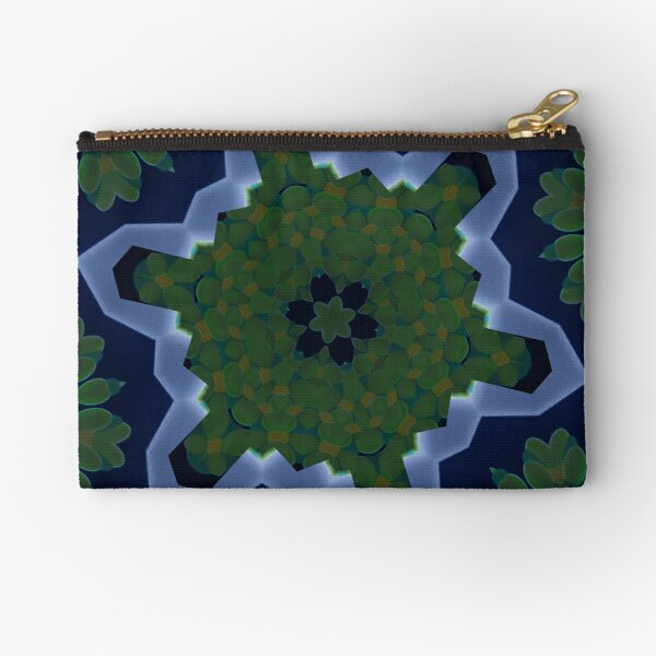 Peas and Ice Pedals Circle Design Offering at Green Bee Mee Zipper Pouch