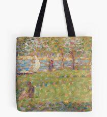 "Georges Seurat, Study for ""La Grande Jatte"", 1884/1885 Painting Tote Bag"