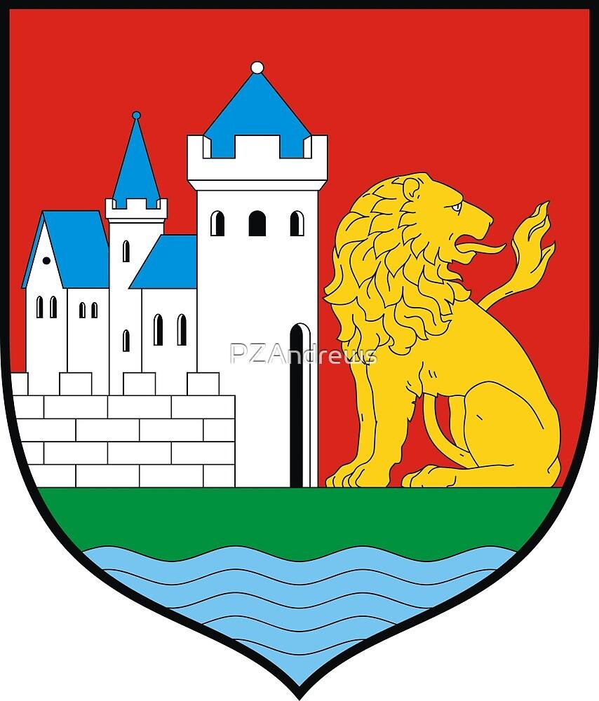Coat of Arms of Lębork, Poland by PZAndrews