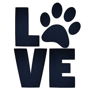 paw print love paws animal pet print cat dog silhouette by soufianeos