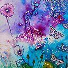 Fantasy Flowers by FrancesArt