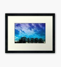 Sky & Trees Framed Print