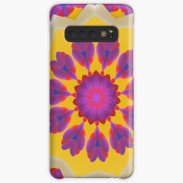 Purple Pedals 3D in the Sun Design Offering at Green Bee Mee Samsung Galaxy Snap Case