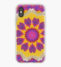 Purple Pedals 3D in the Sun Design Offering at Green Bee Mee iPhone Case
