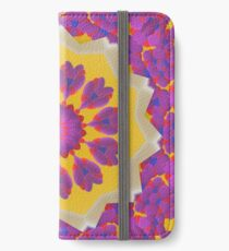 Purple Pedals 3D in the Sun Design Offering at Green Bee Mee iPhone Wallet/Case/Skin