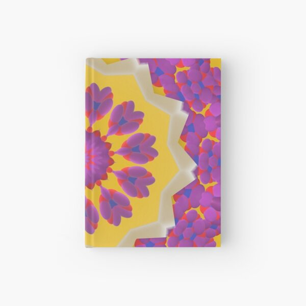 Purple Pedals 3D in the Sun Design Offering at Green Bee Mee Hardcover Journal