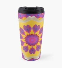 Purple Pedals 3D in the Sun Design Offering at Green Bee Mee Travel Mug