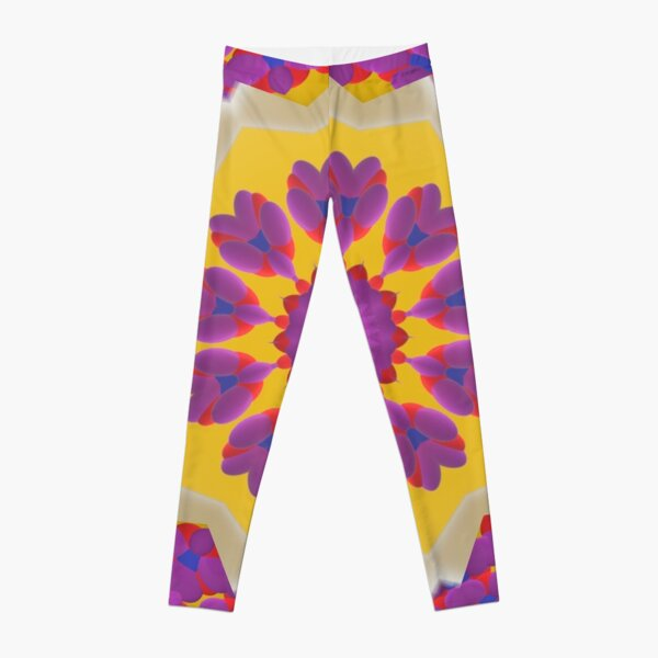 Purple Pedals 3D in the Sun Design Offering at Green Bee Mee Leggings