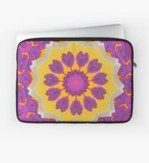 Purple Pedals 3D in the Sun Design Offering at Green Bee Mee Laptop Sleeve