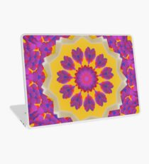 Purple Pedals 3D in the Sun Design Offering at Green Bee Mee Laptop Skin