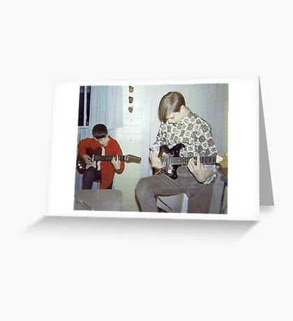 Gene & Ralphy Jammin' In '67 Greeting Card