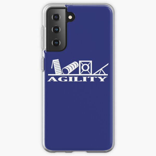 Dog Agility Equipment  | NickerStickers® on Redbubble Samsung Galaxy Soft Case