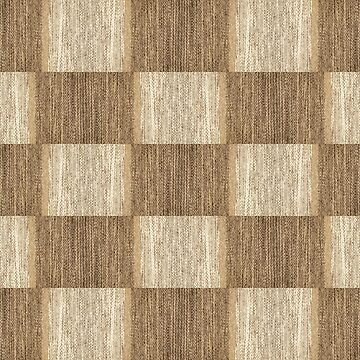 Camel wool fabric texture pattern collage in a chessboard order. by IaroslavB