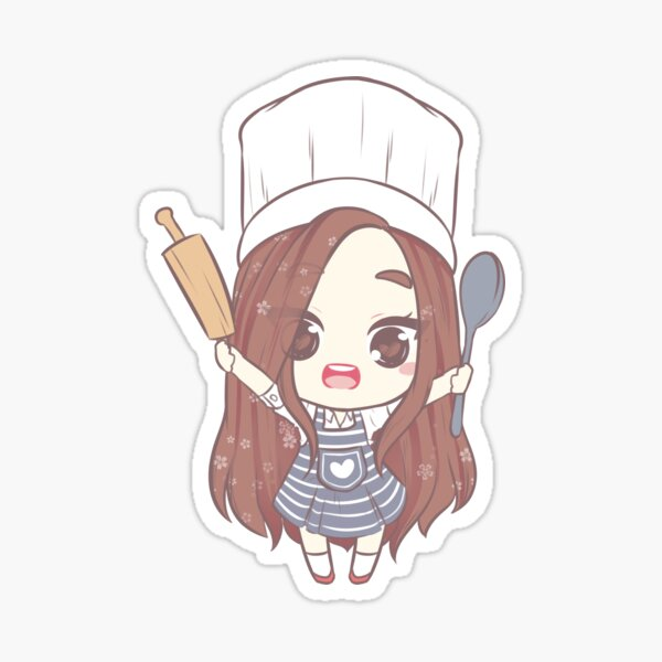 Let's make a cake Sticker