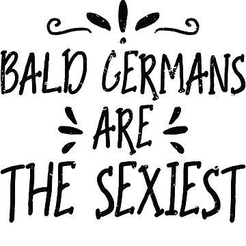 Balded German by Pixelofart