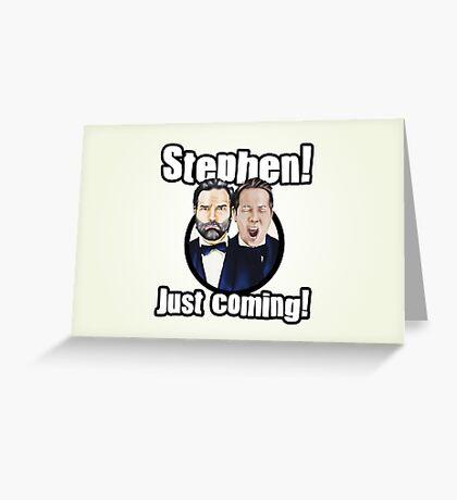 Adam and Joe: Stephen Card! 3 Greeting Card
