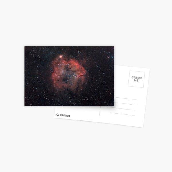 Mu Cephei supergiant star, and IC1396 emission nebula. Postcard