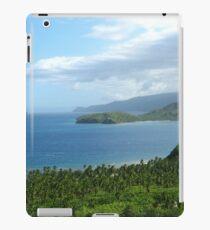 a desolate Philippines landscape iPad Case/Skin