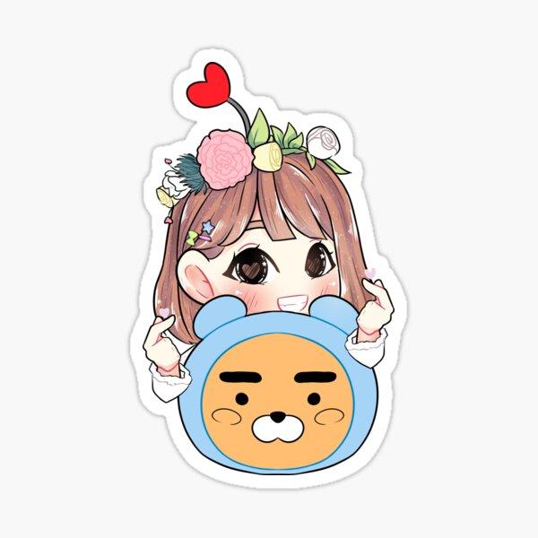Kkura Hearts Sticker