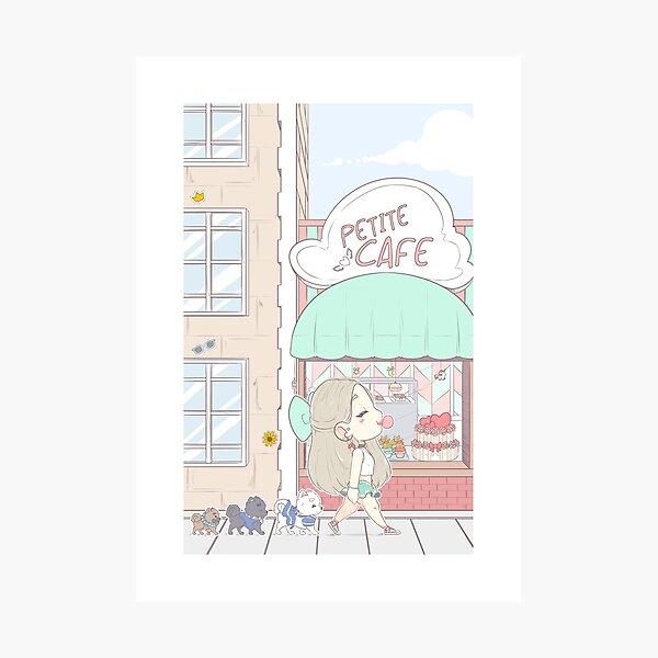 Petite Cafe PRINT Photographic Print