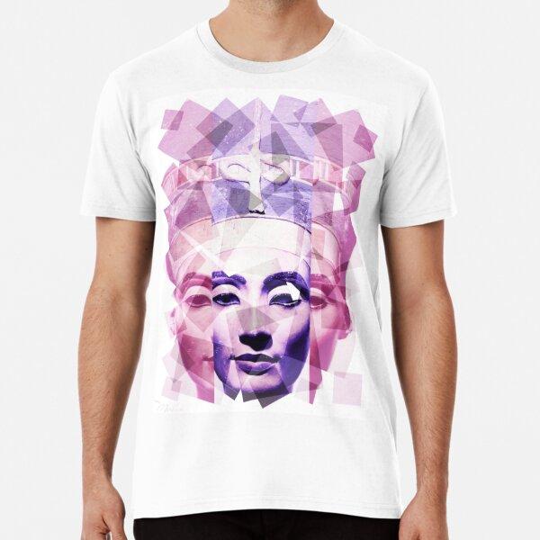 Nefertiti in pink & purple Premium T-Shirt